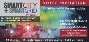 #INNOVATIONS - Salon Smart City + Smart Grid - By Infopromotions @ Paris Expo Porte de Versailles | Paris | Île-de-France | France