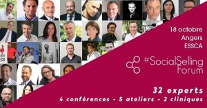 #MARKETING - #SocialSellingForum - By  Partnerwin @ ESSCA | Angers | Pays de la Loire | France