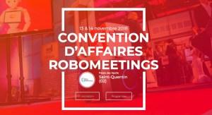 #INNOVATIONS - RoboMeetings - Smart Industry - By L'Agglomération du Saint-Quentinois @ Palais des Sports Pierre Ratte | Saint-Quentin | Hauts-de-France | France