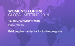 #WFGM18 - Women's Forum Global Meetings 2018 - By Publicis Groupe @ Paris  | Paris | Île-de-France | France