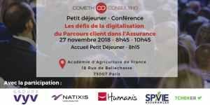 #TRANSFORMATON - Les défis de la digitalisation du Parcours client dans l'Assurance - By COMETH Consulting @ Académie d'Agriculture  | Paris | Île-de-France | France