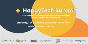 #TECH - HappyTech Summit - By Happytech @ Startway Sentier | Paris | Île-de-France | France