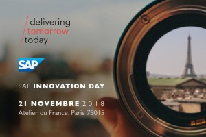 #TECH - SAP Innovation Day - By delaware @ L'Atelier du France | Paris | Île-de-France | France