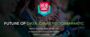 #MARKETING  - Future of Data, CRM & Programmatic - By Hub Institute @ Maison de la Mutualité