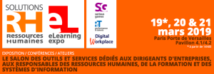 #RH - Solutions RH 2019 - By Groupe Solutions @ Paris Expo Porte de Versailles