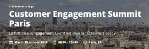 #MARKETING - Customer Engagement Summit Paris - BY PEGA @ The Westin Paris – Vendôme