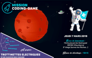 #TECH- CODING-GAME : MISSION COSMONAUTE - By Agixis @ Agixis