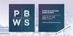 #TECH - Paris Blockchain Week Summit - By Paris Blockchain Week Summit @ STATION F
