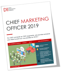 #MARKETING - CHIEF MARKETING OFFICER 2019 - By DII @ Open Mind Kfé Saint-Honoré