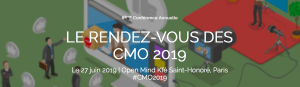 #MARKETING - Le rendez-vous des CMO 2019 - By Drive Innovation Insights @ Open Mind Kfé Saint-Honoré