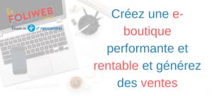 #RETAIL #WEBINAR - CRÉEZ UNE E-BOUTIQUE PERFORMANTE ET RENTABLE ET GÉNÉREZ DES VENTES - By Néocamino & Réussir.fr