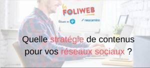 #MARKETING #WEBINAR - Quelle stratégie de contenus pour vos réseaux sociaux ? - By Néocamino & Réussir en fr