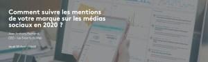 #MARKETING #WEBINAR - Comment suivre les mentions de votre marque sur les médias sociaux en 2020 ? - By Meltwater