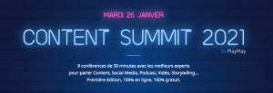 #Innovations - Content Summit 2021 - By PlayPlay