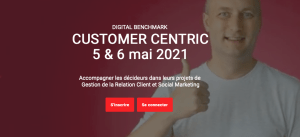 #MARKETING - Digital Benchmark & Customer Centric - By EBG