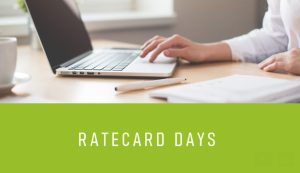 #TECHNOLOGIES - Ratecard Days - By Ratecard Agency