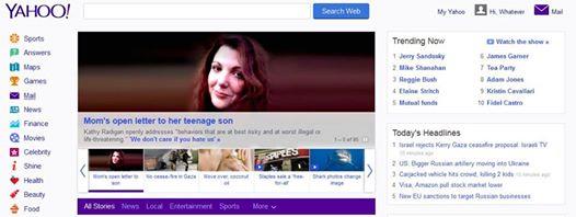 Yahoo cover