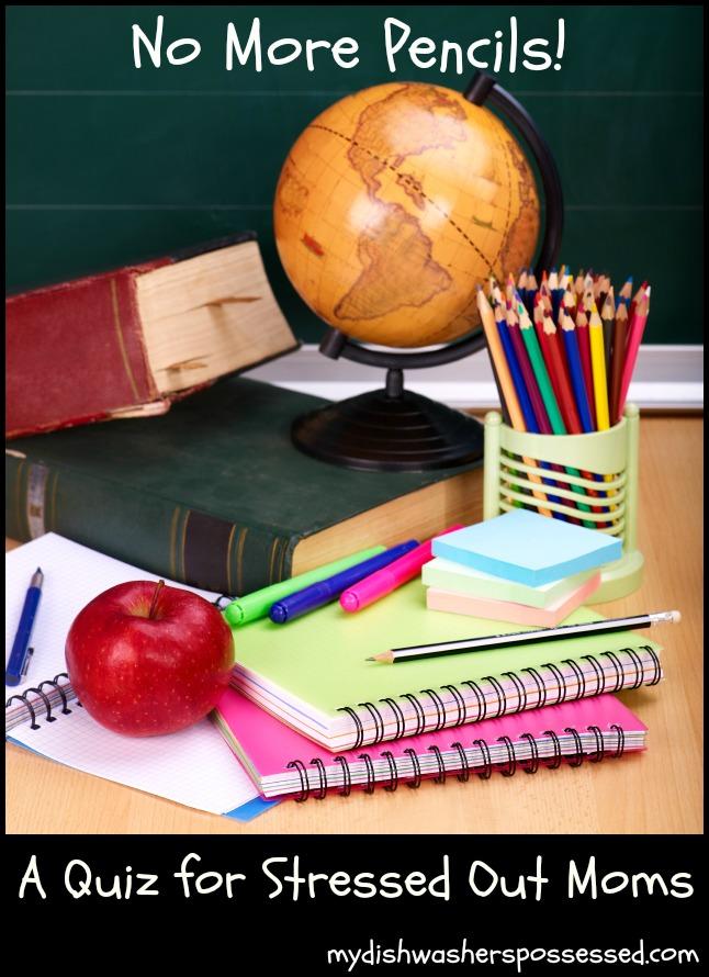 no more pencils
