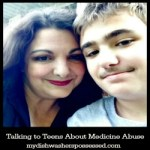 Talking to Teens About Medicine Abuse
