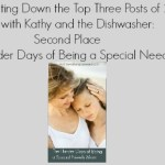 Counting Down the Top Three Posts of 2017 with Kathy and the Dishwasher: Number Two