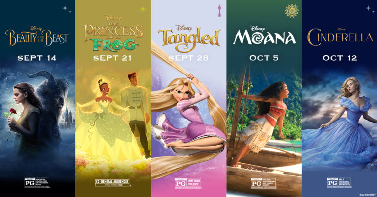 disney: Disney Princess Movies In Order From Oldest To Newest