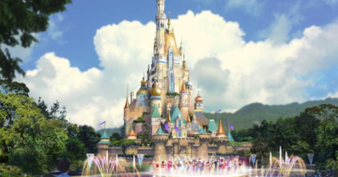 Castle Transformation Reaches New Heights at Hong Kong Disneyland | Disney News