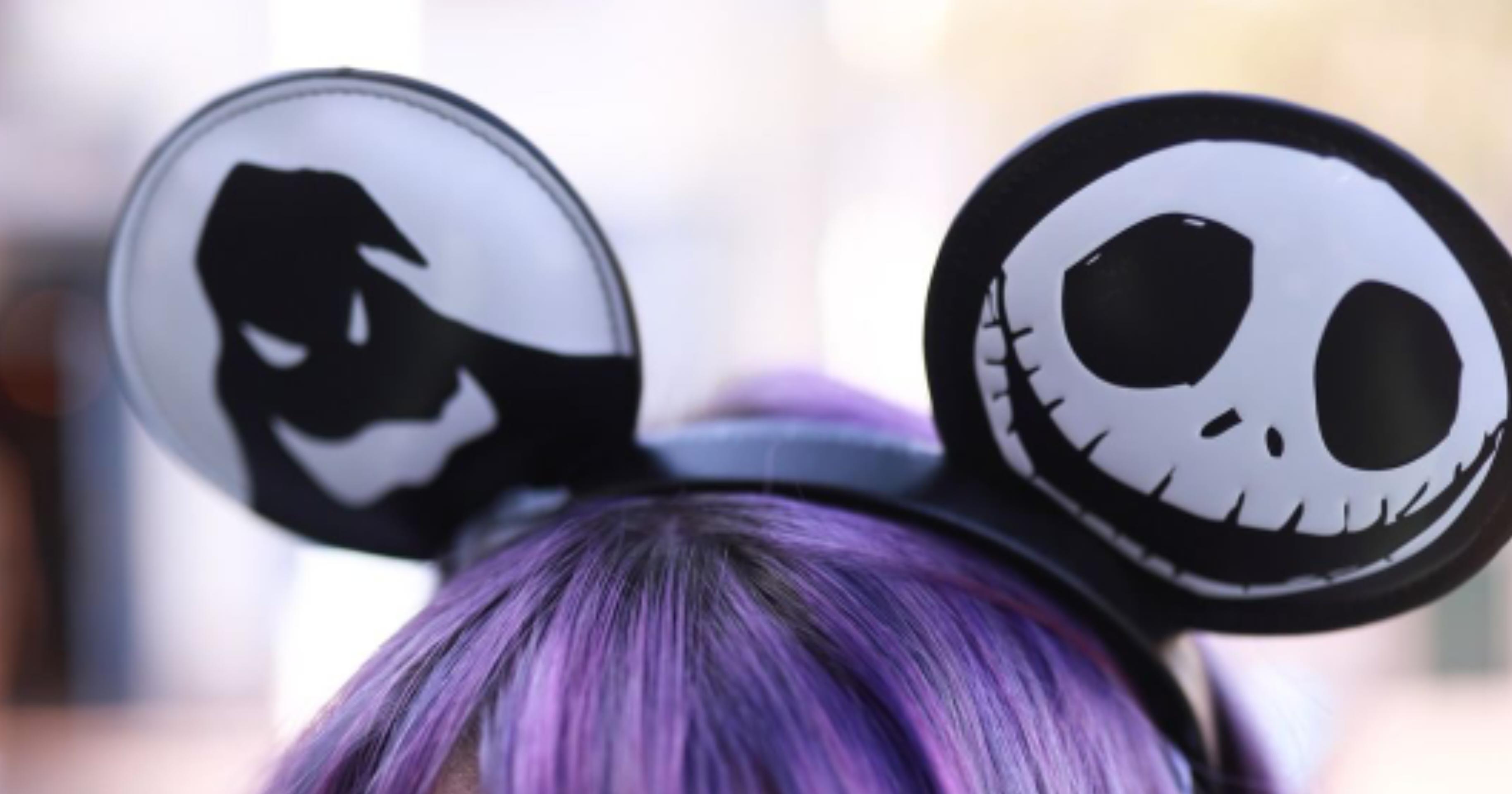 Christmas Minnie Ears 2019.New Nightmare Before Christmas Minnie Ears Now At Disney