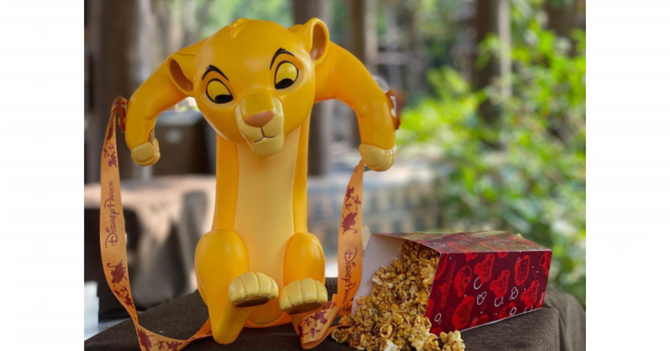 Baby Simba Lion King Pop Corn Bucket Disney News