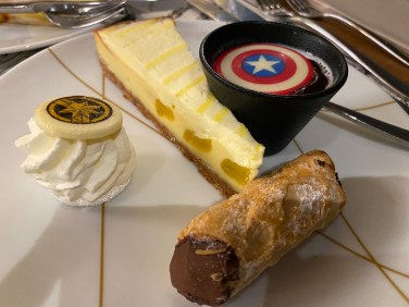 Assortiment de desserts italiens
