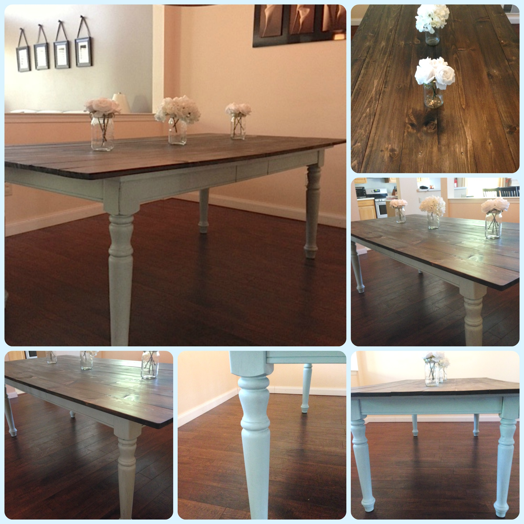 How To Turn An Old Dining Room Table Into A Beautiful