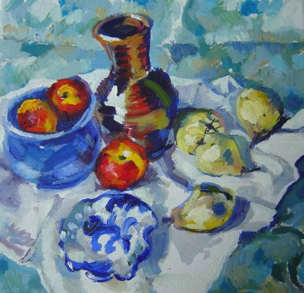Cézanne type still life myDIY art degree