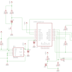 Dld Mini Projects Circuit Diagram 1994 Honda Civic Dx Fuse Box Esp8266 Thermostat First Esp 12e My Diy