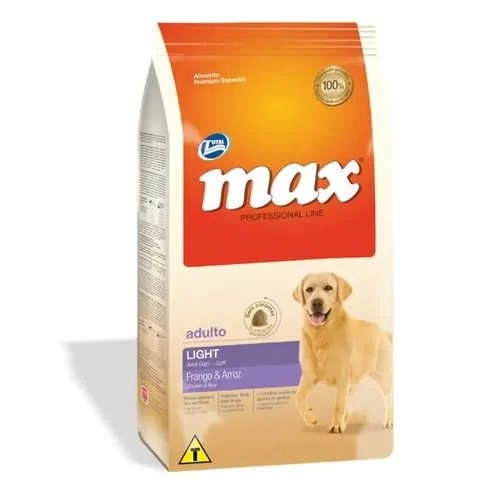 Max Light Pollo y Arroz 2 kg