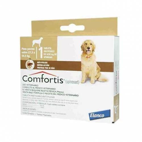 Comfortis 27 a 54 kg antipulgas para perros