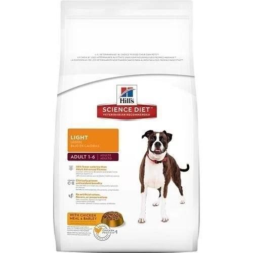 Hills perros Adultos Light OB 17.5 lb