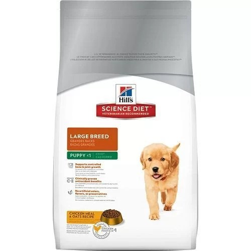 Hills perros Cachorros Large Breed 15.5 lb