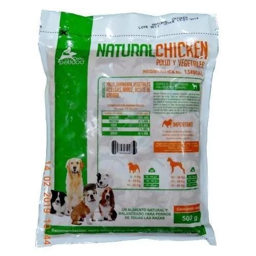 Dieta Barf Natural Chicken