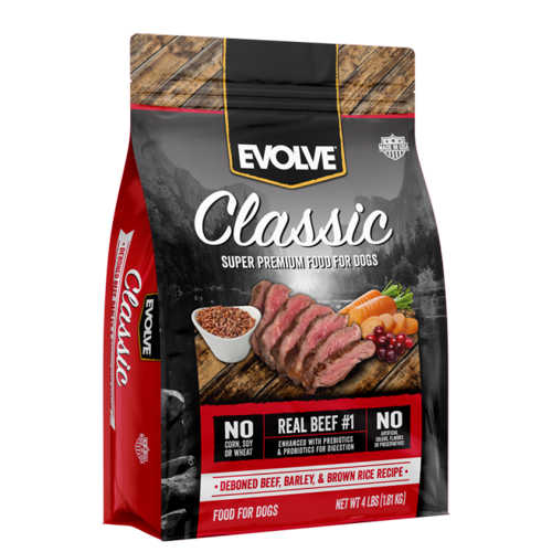 Evolve Classic Beef DogFood