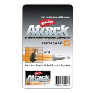 Attack para Gatos. Pipeta. 0.5 ml.