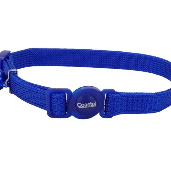 COASTAL Collar Gato Safe Azul