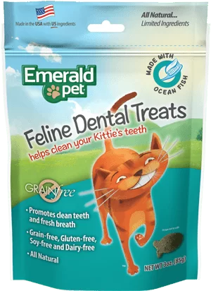 EMERALD PET Cat Snack Dental Pescado Oceanico