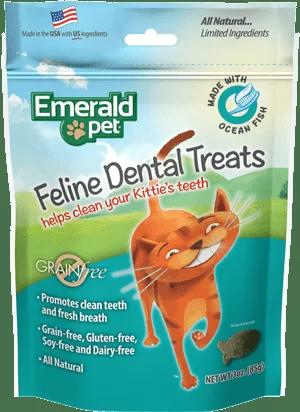 EMERALD PET Cat Snack Dental Pescado Oceanico