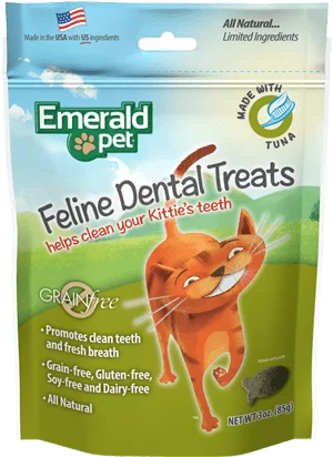 EMERALD PET Cat Snack Dental Atun