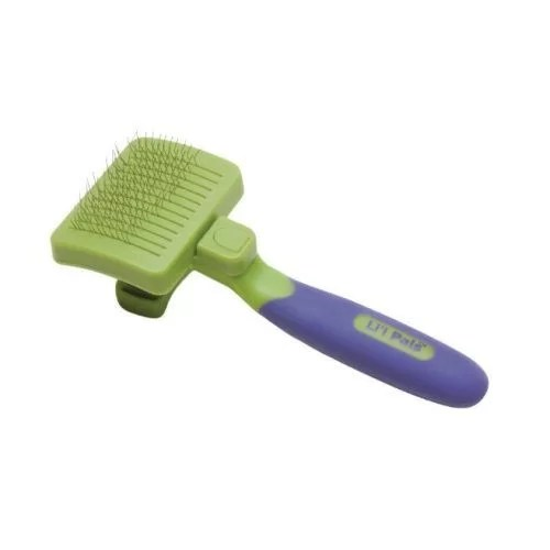LIL PALS Perro Grooming Cepillo Retractil