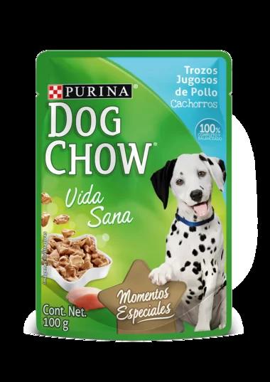 Dog Chow Cachorros Trozos Jugosos De Pollo