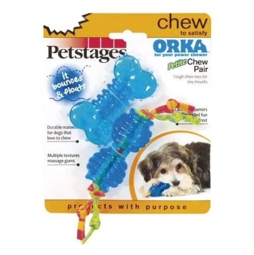 Juguete Orka Pack X 2 Mini Petstages