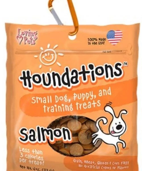 HOUNDATIONS Dog Snack Salmon 4 Oz