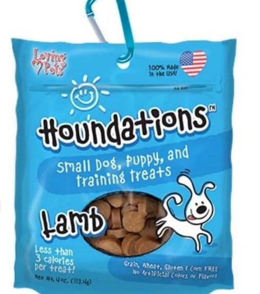HOUNDATIONS Dog Snack lamb- cordero 4 Oz