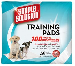30 simple solution puppy training pads