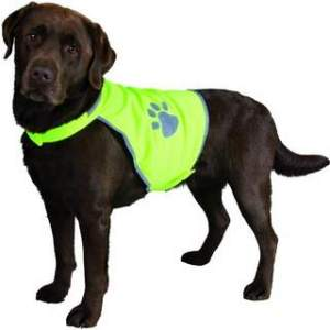 Trixie safety reflective dog vest